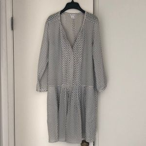 Club Monaco Patterened Dress Size 10